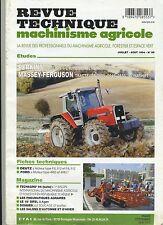 (4A)REVUE TECHNIQUE AGRICOLE TRACTEUR MASSEY-FERGUSON / PERKINS / DEUTZ / FORD