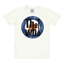 Rock'n'Roll: Kokarde - Target - Mod - The Who Logo T-Shirt, altweiß - LOGOSHIRT