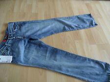 ENERGIE coole leichte used look Jeans KIRK Gr. 10 J / 140 NEU