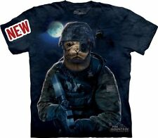 The Mountain Adult Unisex Graphic Tee, Navy Seal, XL