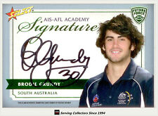 2012 Select AFL Future Force Cards Signature FFS30 Brodie Grundy (Collingwood)