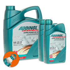 7 (5+2x1) Liter ADDINOL SAE 5W-30 Super Power MV 0537 Leichtlaufmotorenöl