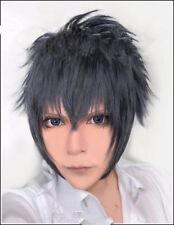 Final Fantasy Versus 15 Noctis Lucis Caelum Anime Cosplay Costume Wig Wig Cap