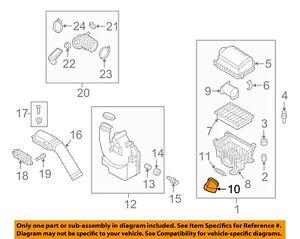 HYUNDAI OEM 17-18 Elantra Air Cleaner Intake-Tube Duct Hose 28116F2100