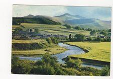 Brecon Beacons From The Promenade Brecon 1973 Postcard 221b