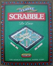 Travel Scrabble Deluxe - 100% Complete in Box