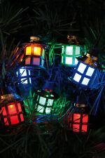 Noma 40 Victorian Lanterns Traditional Filament Multi-Colour Vintage Xmas Lights
