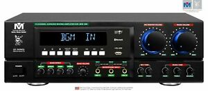New 2021 - Better Music Builder (M) DX-213 G5 800W Professional Mixing Amplifier