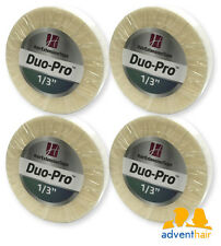 "WALKER Duo-Pro Hair Extensions Tape Roll 1/3"" x 6 yards wig hairpiece - 4 rolls"