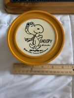 Vintage 1965 Snoopy Thermos Flying Ace Peanuts insulated jar small soup Schulz@@
