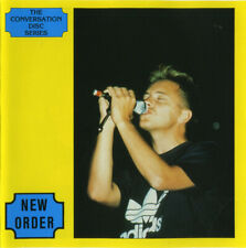 New Order The Conversation Disc Series Rare Limited Edition of 1500 Interview Cd