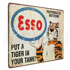 Retro Tiger Metal Tin Sign Vintage Poster Plaque Bar Pub Cafe Wall Decor 20x30cm