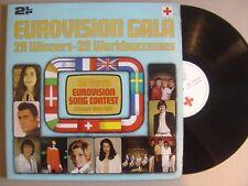 V.AºEUROVISION GALAº29 winners 1956-81 SPANISH DOUBLE LP CRUZ ROJA 1981ºgatefold