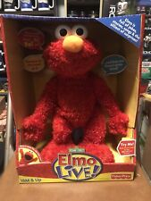 Elmo Live Doll New In Package Sesame Street Fisher Price 2008 Mattel
