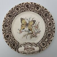 Vintage Treasure Craft Knott's Berry Farm  Butterfly Commemorative Plate