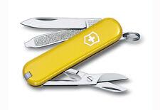 """VICTORINOX Schweizer Messer """"Classic SD"""" gelb"""