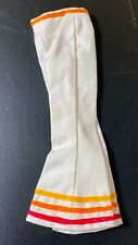 RARE VTG IDEAL TAMMY DOLL SWITCHABLES PANTS BELL BOTTOMS YELLOW ORANGE RED WHITE