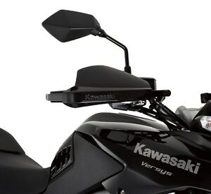 Kawasaki Versys Hand Guard Brackets-Genuine Kawasaki-Fits 2010-2018 Versys 650