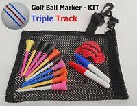 Golf Ball CALLAWAY Triple Track Line Marker Stencil chrome ERC soft Odyssey
