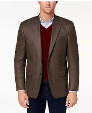 New listing Lauren Ralph Lauren Men's Classic-Fit Ultra-Flex Brown Multi-Tic Sport 44S