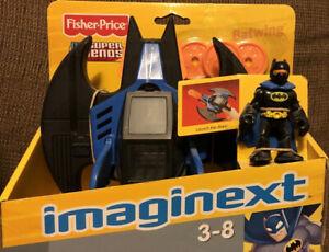 Imaginext DC Super Friends Batman w/ Batwing & 3 Discs N4301 (Fisher Price)
