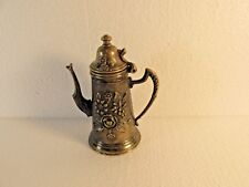 Rare Vintage Norleans Lidded Stein Miniature Pitcher -Hand Made Italy-Pre-Owned