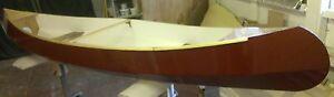 "Peasemarsh 12' (3.81m) ""Canadian"" Style Open Canoe DIY Plans/Full Size Patterns"