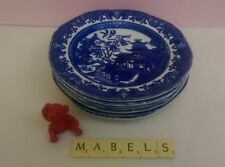 Unboxed Earthenware Burleigh Pottery Side Plates