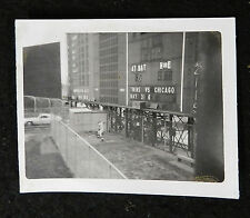 (4) 1960s METROPOLITAN STADIUM MINNESOTA TWINS  PHOTOS LOT ORIGINALS