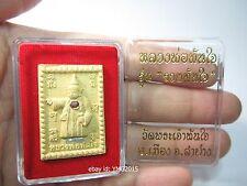 """""""LP.TANJAI Rapid Wealth Generation"""" Wat LP.TanJai LamPang province , Thai Amulet"""
