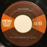 Hear Los Tropicanos de Leo Zenner Interesada / Mar y Cumbia Rare Latin 45rpm