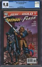 Brave and the Bold #13 (2008) CGC 9.8 Ordway Cover and Art Batman Flash