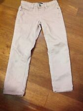 Squeeze girl rusty pink skinny jean pant size:6x