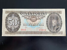 More details for hungary 50 forint 4.11.1986 p-170g vintage banknote lot 136