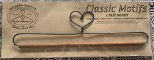 Classic Motic Craft Holder Heart