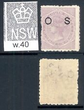 NEW SOUTH WALES, OFFICIAL 1882 6d pale lilac P10 very fine MM, SGO30, cat £22