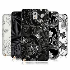 OFFICIAL HAROULITA BLACK AND WHITE 5 SOFT GEL CASE FOR SAMSUNG PHONES 2