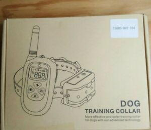 Dog Remote Training Shock Collar