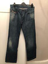 Men's Diesel Regular Fit Blue Wash Jeans W34 L34