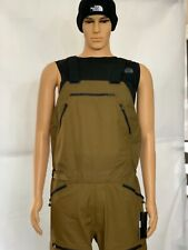 NEW NORTH FACE MEN'S BRIGANDINE FUTURELIGHT BIB $900 SZ M BRITISH KHAKI FUSE