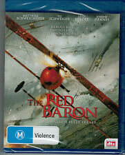 Red Baron Biography WW1 Movie Richthofen German Fighter Air ACE Blu Ray new