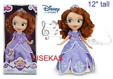Disney Store Princess Sofia The First Singing 12 inch Doll NEW