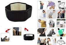 Lumbar Lower Back Support Belt Brace Strap Pain Relief Posture Waist Trimmer