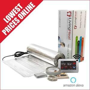 Under Wood and Laminate Floor Heating Kit, 150w/m2 Underfloor Heating Foil Mat.