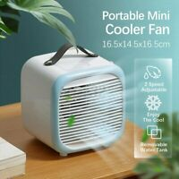 Portable Tabletop Cooler Fan Home USB Atomization Mini Air Conditioner