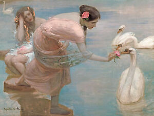 Rupert Bunny - A Summer Morning, Australian Art, Museum Poster, Canvas Print