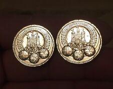 Raro 2011 capitales Edimburgo £ 1 libras monedas x 2-muy brillante monedas!!!