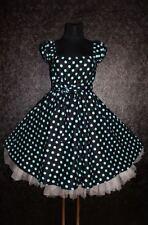 Nouveau T 54 56 58 Femmes Rockabilly 50er Jupon Pin Up Soirée Fête Vintage robe