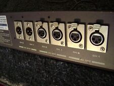 Otari Mx 5050 Reel To Reel Tape Deck Xlr Connector Panel.