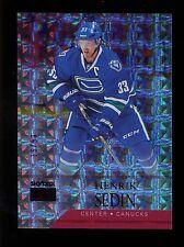 2014-15 Fleer Showcase Hockey  Skybox Premium Star Ruby #12  Henrik Sedin  16/50